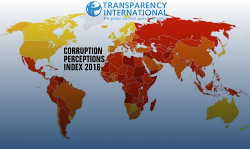 Corruption perceptions list 2016 eritrea ranks 164th out of 176 with last novembers launch of transparency internationals corruption perceptions index 2016 its timely to assess eritreas stand in the world and gumiabroncs Image collections