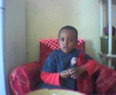 Fidel Amanuel Mengis who is now 8 years old has been separated from his parents for almost seven years.
